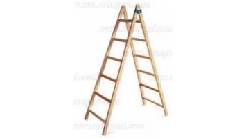 Ferreteria lavalle productos escaleras de madera tipo for Escaleras pintor precios